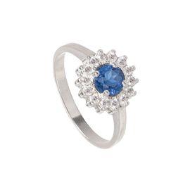 Anel-Redondo-com-Zirconia-Azul-de-Prata-Rodinada